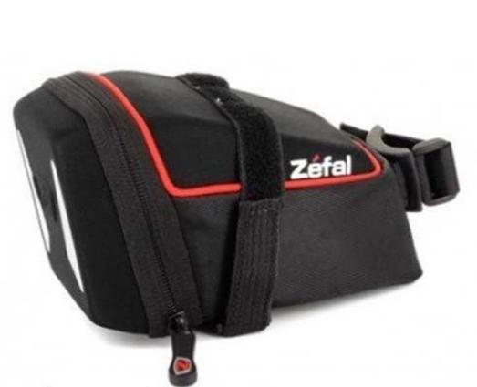 Сумка Zefal Iron Pack L (703101) подседельная на ремешке, 1,0L, черная