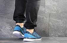 Кроссовки Under Armour,текстиль,темно синие с голубым, фото 2