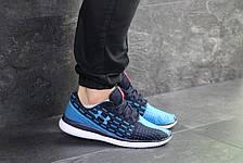 Кроссовки Under Armour,текстиль,темно синие с голубым, фото 3