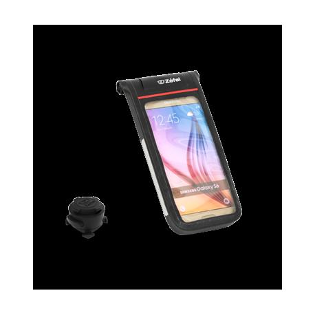 Консоль Zefal Z-Console Dry M (7052A) пластик, на руль для телефона 130*62мм, герметичная, черная
