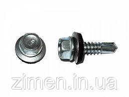Саморіз покрівельний по металу оцинкований 4,8Х19 250 шт.