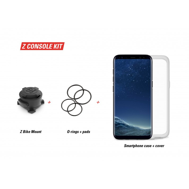 Консоль Zefal Z-Console (7120) пластик, на руль для Samsung S8/S9, жесткая, черная