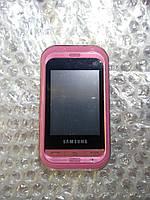 Телефон  Samsung C3300i розовый Б.у