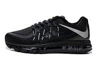 Мужские кроссовки Nike Air Max 2015 (black), найк, аир макс