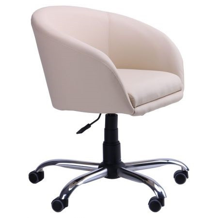 Кресло Дамкар Хром Неаполь N-17 на роликах (AMF-ТМ)