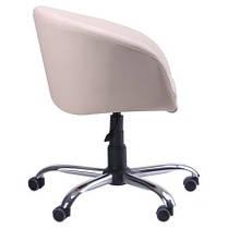 Кресло Дамкар Хром Неаполь N-17 на роликах (AMF-ТМ), фото 3