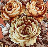 Аврора 1841-2, павлопосадский вовняну хустку з шовковою бахромою, фото 3