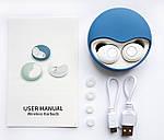Бездротові Bluetooth-навушники безпровідні із зарядним чохлом-кейсом Wi-pods К10 Bluetooth 5.0. М'ятні., фото 9