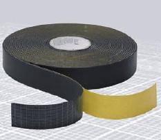 Vibrofix Tape 75/6 Звукоизоляционная лента из синтетического каучука, рулон 15 м