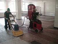 Шлифовка, полировка бетонных полов