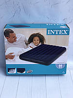 Надувной плот матрас для катания Intex 137 х 191 х 22 см артикул 68758