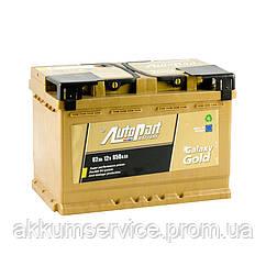 Акумулятор автомобільний Autopart Galaxy Gold 82AH R+ 850А (Ca-Ca)