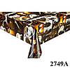 Клеенка (2749A) силиконовая, без основы, рулон. Китай. 1,37м/30м