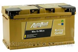 Аккумулятор автомобильный Autopart Galaxy Gold 102AH R+ 950А (Ca-Ca)