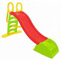 Горка спуск 180см красно-зеленая для детей, фото 1