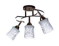 Люстра потолочная на три плафона (для гостиной) Sunlight 0166/3 N