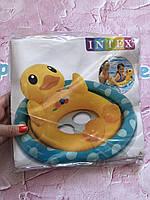 Надувной круг Intex Животные черепаха уточка зайчик 71 * 58 см артикул 59570