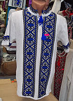 Мужская вышиванка вязанная, фото 2