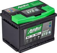 Аккумулятор автомобильный Autopart EFB 62AH R+ 580А Start-Stop