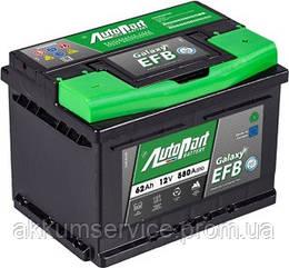 Акумулятор автомобільний Autopart EFB 62AH R+ 580А Start-Stop