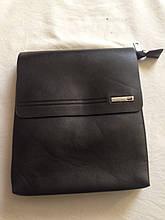 Кожаная мужская сумка Поло еліт барсетка Поло планшетка через плечо