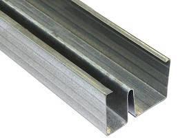 Звукоизоляционный профиль для гипсокартона Knauf 75х3000 мм MW 75/50/0.6