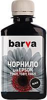 Комплект чернила Barva Epson T0811-Т0816 (1410/P50/T50/R270/TX650)(6цветов по 180 гр)