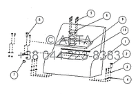 Ящик для инструментов 21 16500 00 10 на Jonyang 230E