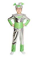 Карнавальный костюм Инопланетянина для мальчика Рост 110-116 см