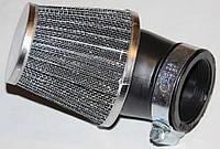 Фильтр нулевого сопротивления d=42mm под 45 градусов