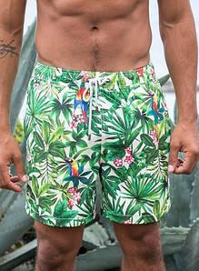 Пляжные мужские шорты IslandHaze RainForest Day (Австралия), плавки, купальные шорты