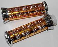 Ручки руля алюминиевые золото