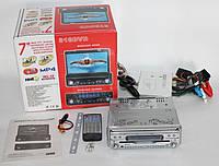 Автомагнитола с выезжающим экраном 818DVD, фото 1