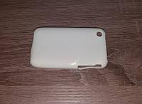 Чехол накладка Apple iPhone 3G/3Gs силиконовый белый