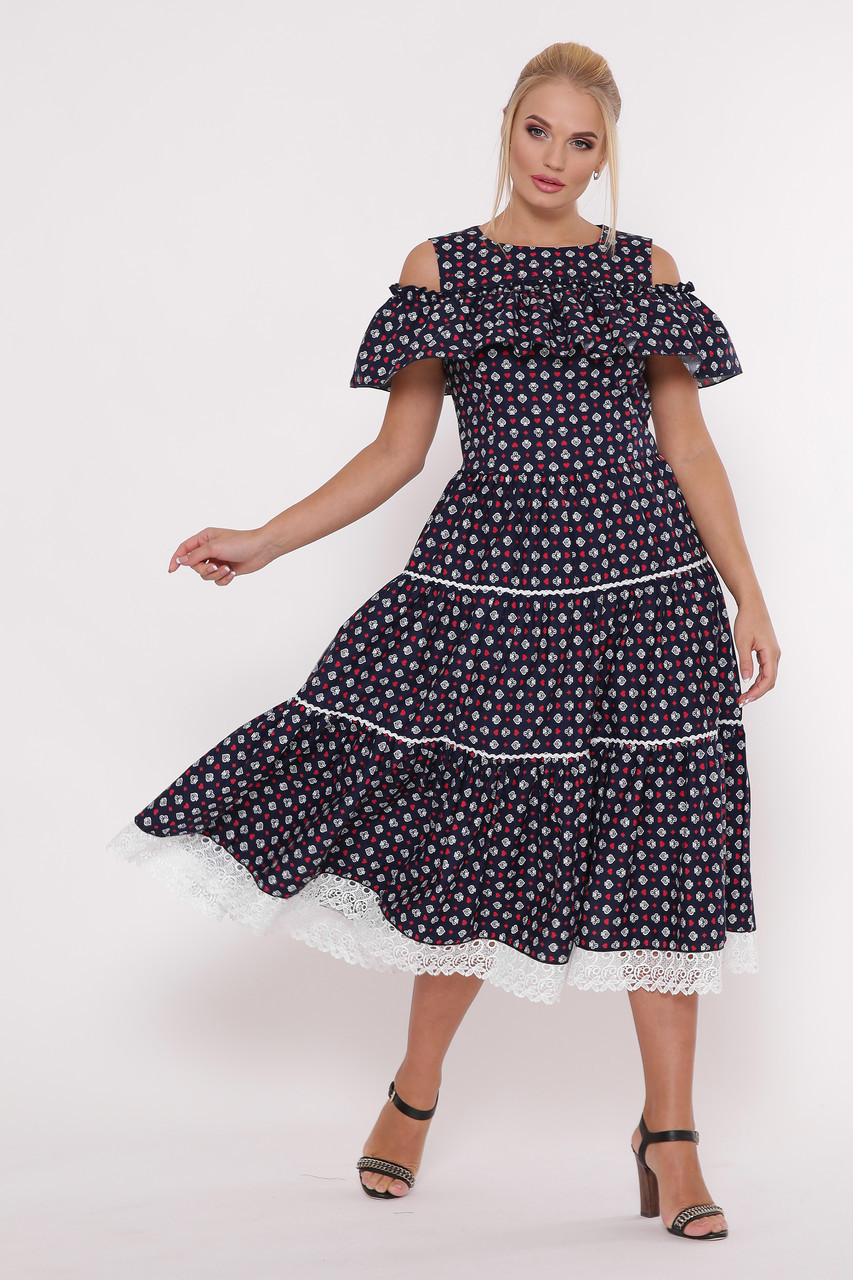 d777c516aa72 Я-Модна - купить Женское стильное платье-сарафан Таяна / размер 48 ...