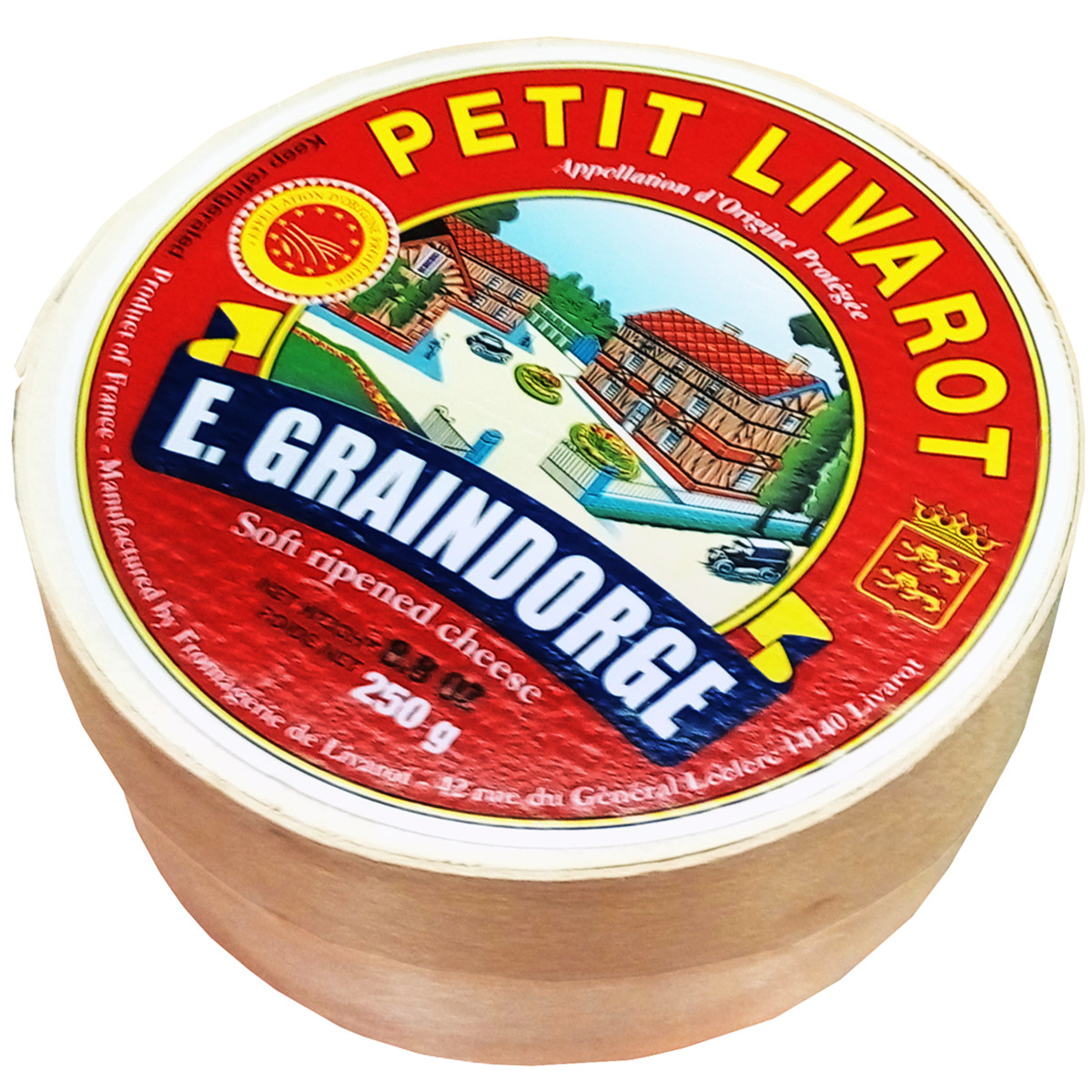 Сыр французский Петит Ливаро 250грамм