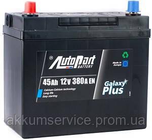 Акумулятор автомобільний Autopart Plus Japan 45AH R+ 380А