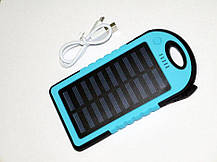 Портативное зарядное устройство Solar PB 30000.Павер банк ES600. Power bank Solar PB 30000, фото 3