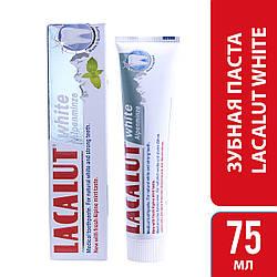 Лакалут вайт альпійська м'ята зубна паста 75 мл, 1 шт.