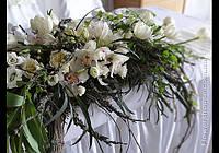 """Оформление свадьбы живыми цветами """"Лесная красота"""""""