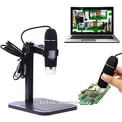 USB микроскоп 1000Х на штативе. Микроскоп цифровой USB на штативе