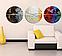 Картина Круглая 3 модуля 40 смØ Абстракция, фото 2
