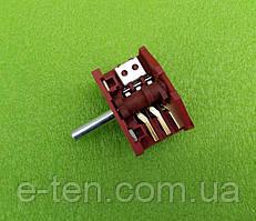 Переключатель режимов четырехпозиционный MAJADE XZ307B / 16А / 250V / Т150 (контакты 2+3) для электроплит