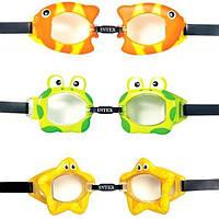 Очки для плаванья Intex детские 3-10 лет