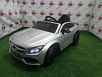Детский электромобиль Mercedes C63 AMG, M 4010EBLRS-11, серебро лак