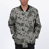 Удлиненный мужской бомбер куртка Light Army Jacket Camo от Galagowear в размере L