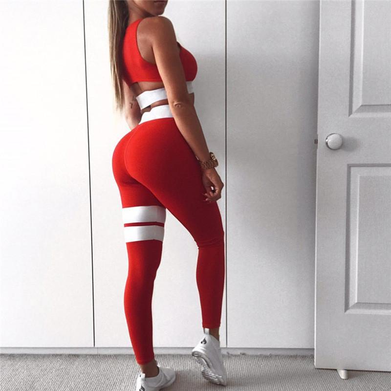 ed817cf059b99 Костюм для фитнеса женский бифлекс, красный — купить недорого в ...