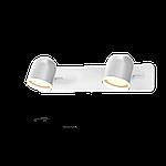 Спотовый светодиодный светильник (бра) MAXUS MSL-01W 2x4W 4100K Белый, фото 2