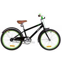 Детский велосипед Дорожник 20 ARTY рама-11,5 2019 черно-салатовый (OPS-FRK-20-083)