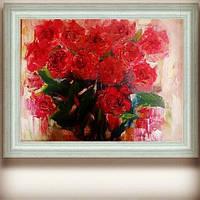 Картина маслом Рози